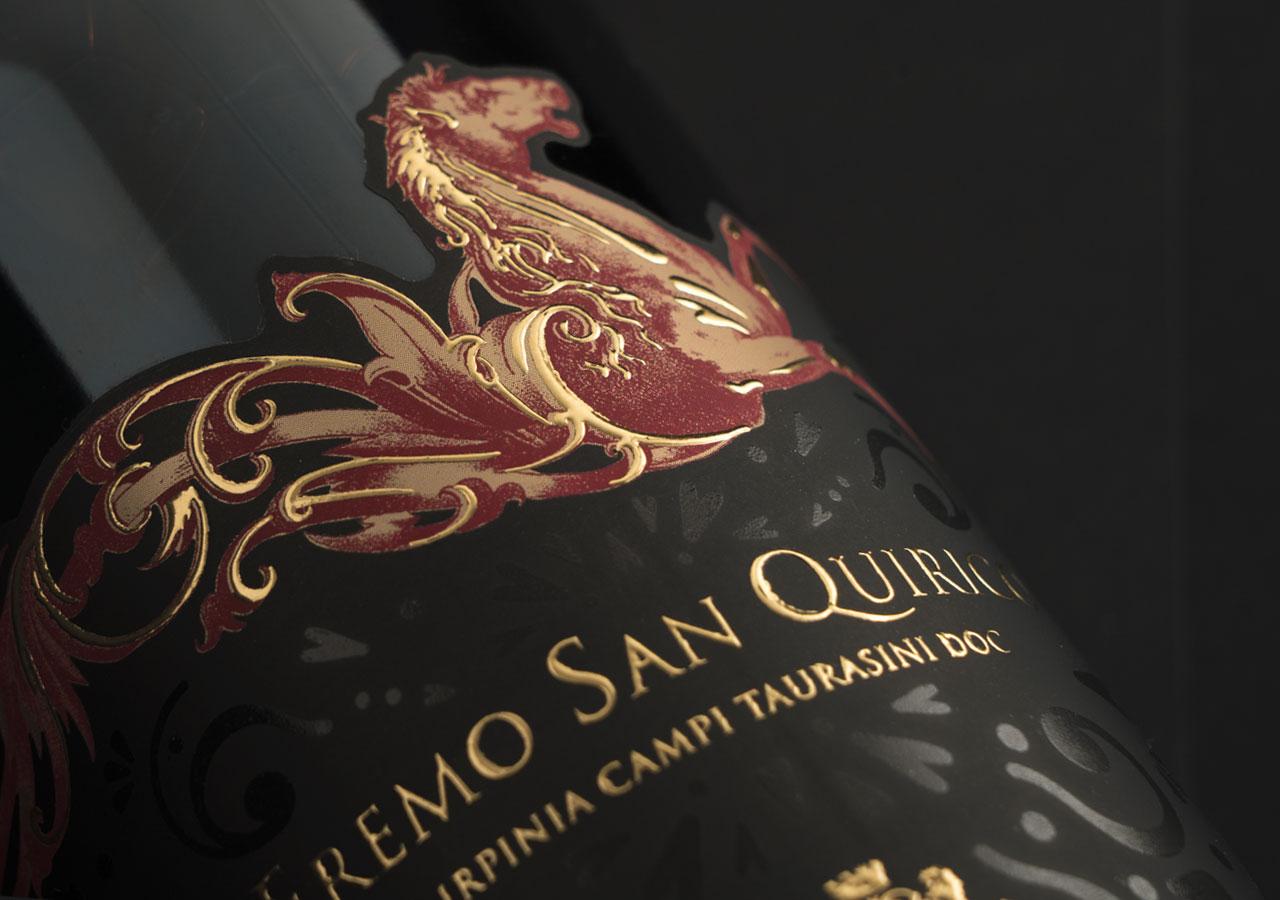 Label design: Eremo san Quirico