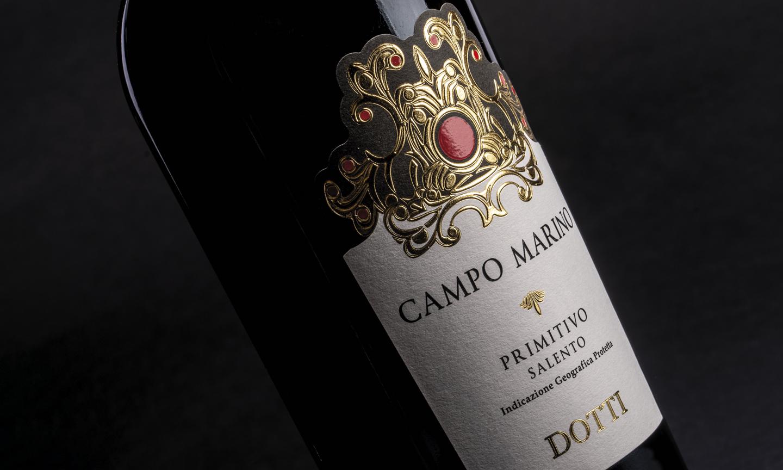 Label design: Campo Marino